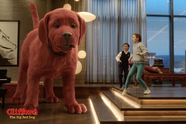电影《大红狗克里弗》北美定档9月17日
