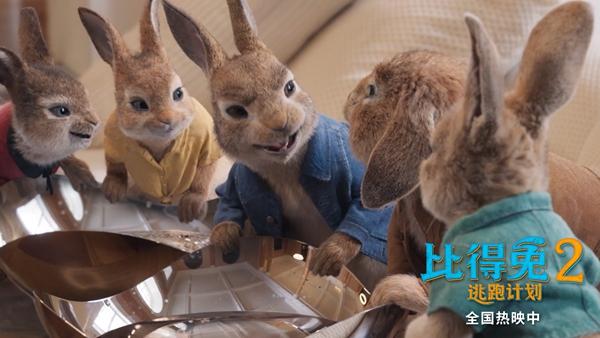 《比得兔2:逃跑计划》票房破亿 口碑领跑成周末家庭观影之选