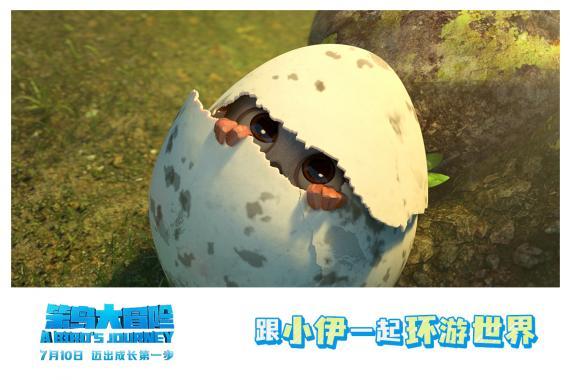 《笨鸟大冒险》7月10日上映 跟小伊一起环游世界