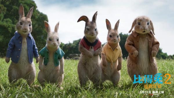 《比得兔2:逃跑计划》明日上映 观众大赞称其解压治愈欢乐不断