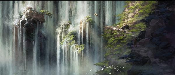 中新合拍动画电影《直立象传说》曝概念设计图 东西方美学造视觉盛宴
