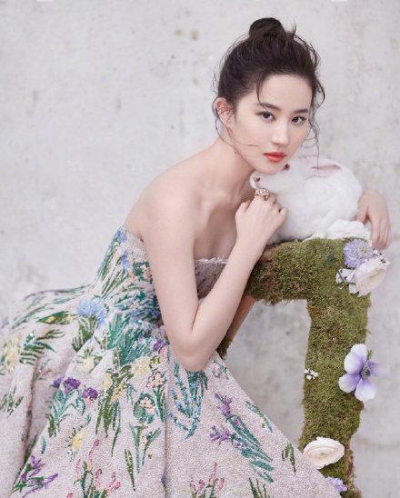 舒畅发博祝刘亦菲生日快乐 曾合作拍摄《金粉世家》