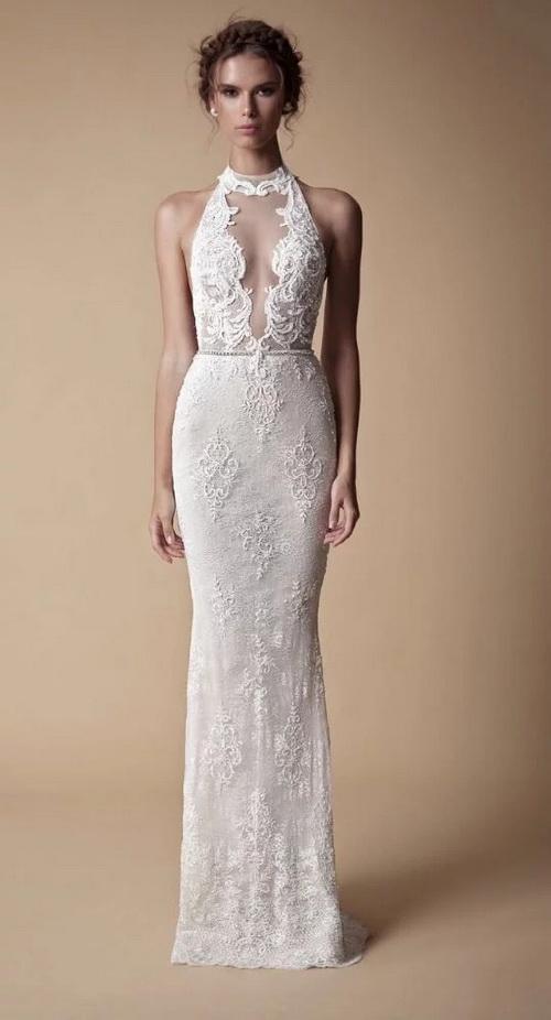 Berta婚纱:蕾丝与薄纱完美的结合