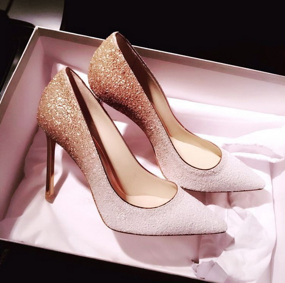被这么美的婚鞋一撩,突然想嫁人了