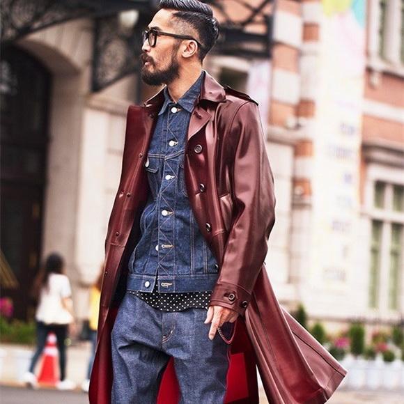 街头风男生穿搭技巧, 一件风衣秒变男神