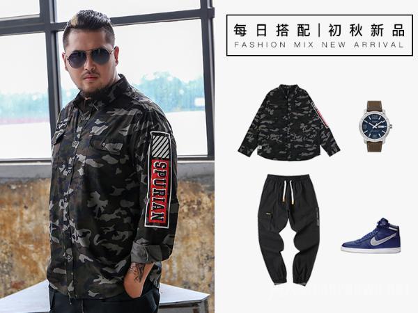 胖胖男生的时尚穿搭 长得胖?照样玩转潮流时尚