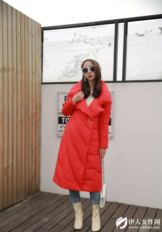 红衣坊女装羽绒服上新 每一件都很时尚!