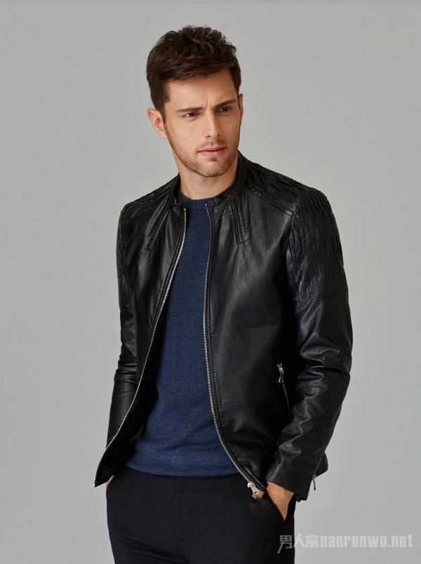 黑色皮夹克搭配 帅到炸裂酷感十足的夹克外套强势来袭