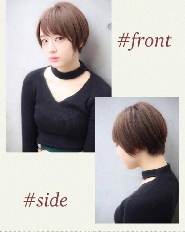 温柔又灵动的一组日系短发发型