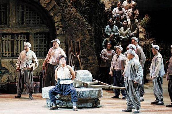 原创歌剧《兰花花》唱响黄土高坡动人悲歌