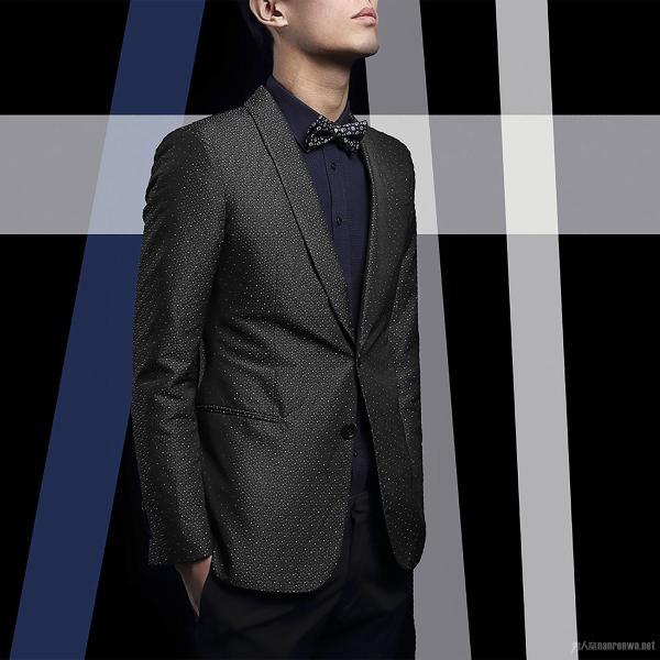 绅士首选阿玛尼男士西装 高端大气面子气质全都有