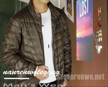 冬季男生保暖羽绒服 轻便时尚的保暖羽绒服值得拥有