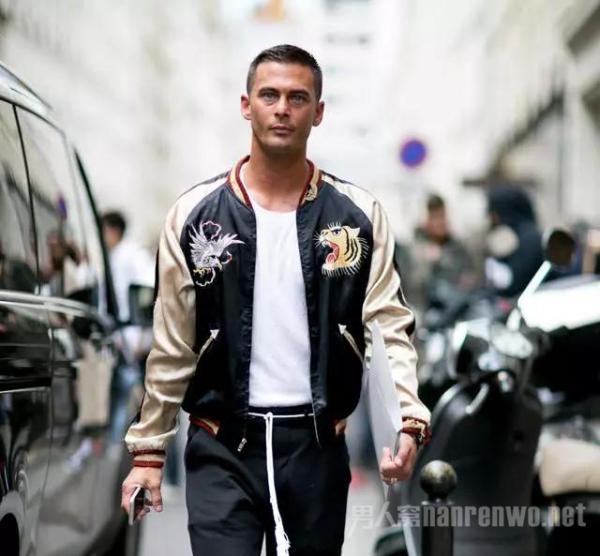 夹克外套也能穿出大长腿?型男显高有妙招!