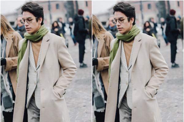 型男的西装搭配都这么穿?大衣西装最强搭配分享