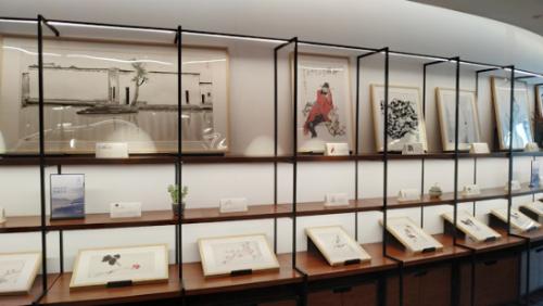 传奇名画几千元带回家 荣宝斋木版水印作品展北京开幕