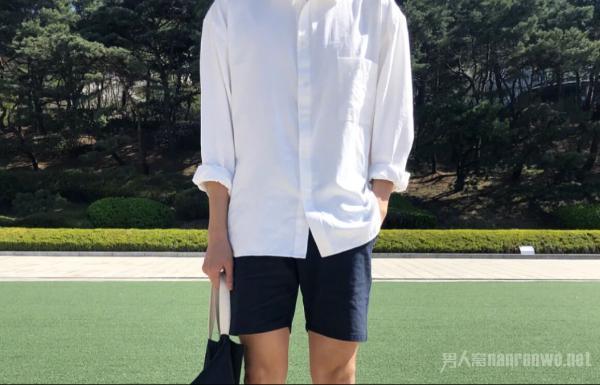 男神范的白衬衫穿搭 留下今年最美好的记忆!