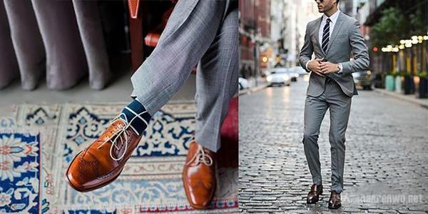 4种棕色皮鞋配最配搭档 你一定穿
