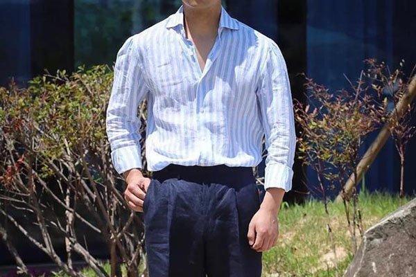 直筒西装裤怎么搭配显年轻 这三种搭配才更显活力
