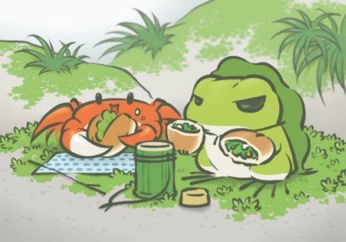 游戏《旅行青蛙》电影化,网友:今天蛙儿子回来了吗