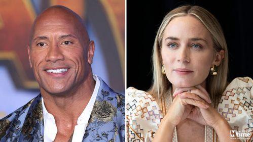 Netflix拿下巨石强森和艾米莉·布朗特主演漫改超英片《锁链》