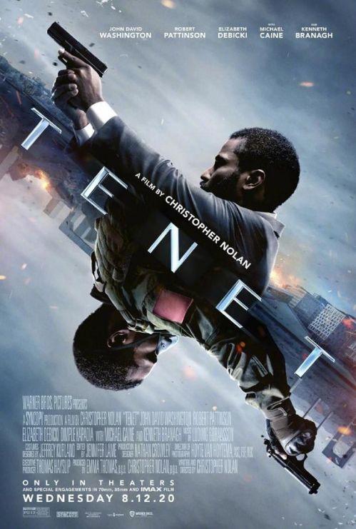 《信条》曝光两张全新国际版海报,影片目前计划于8月12日北美上映