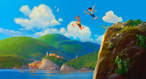 皮克斯新片《卢卡》曝概念图 定档2021年暑假