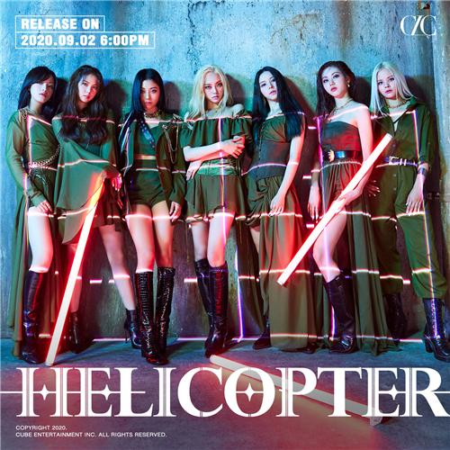 CLC时隔一年华丽回归乐坛,今日发行新曲《HELICOPTER》
