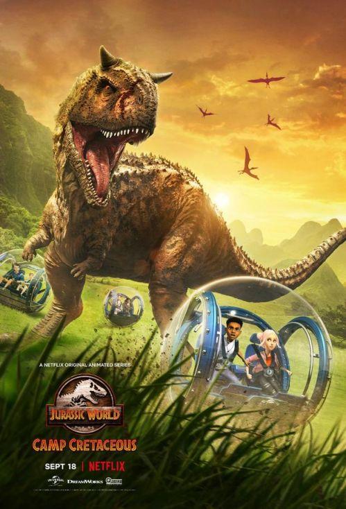 《侏罗纪世界》衍生动画片曝正式预告,该片将于9月18日上线