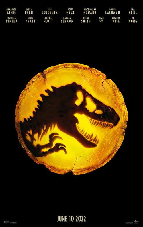 2022见!《侏罗纪世界3》档期推迟一年