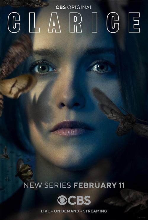 《沉默的羔羊》衍生剧《克拉丽丝》海报神秘飞蛾再次出现