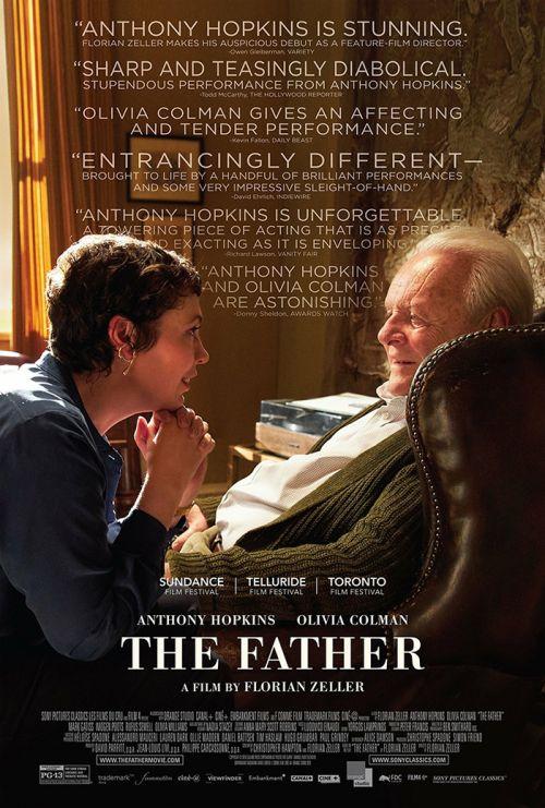 索尼电影公司的电影《父亲》成为媒体预测奥斯卡奖的热门电影