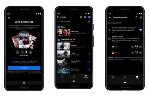 网飞推出新功能:通过无线网络将用户喜欢的内容下载到手机上