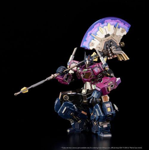 日本铁机巧公布新品《变形金刚》镜像擎天柱合金模型