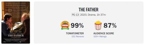 电影《困在时间里的父亲》获第93届奥斯卡金像奖6项提名