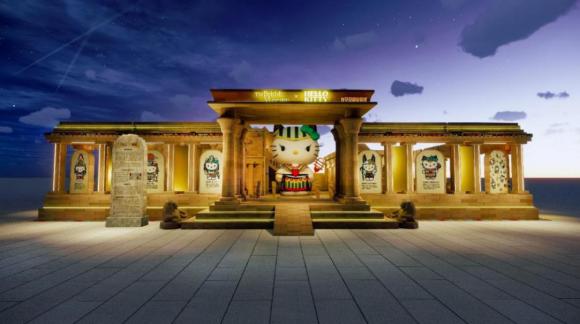 大英博物馆X Hello Kitty梦幻联动苏州中心商场,邀你共赴埃及风情限定盛会