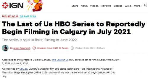 电视剧《最后的生还者》 7月开拍 预计2022年6月8日完成