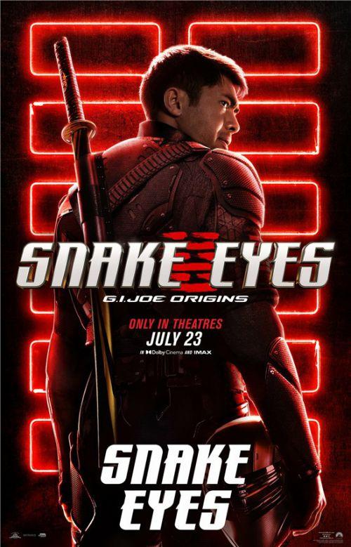 电影《特种部队:蛇眼起源》北美定档 主角海报全员亮相