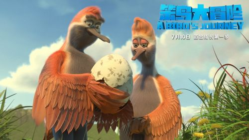 合家欢动画电影《笨鸟大冒险》定档 勇敢成长 家是方向
