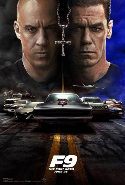 《速度与激情9》北美开画7000万美元 创疫情以来最高纪录