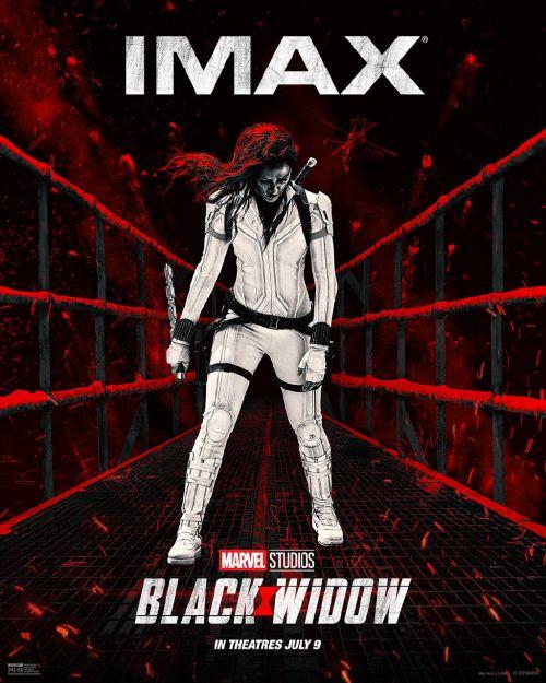 漫威超级英雄电影《黑寡妇》曝全新IMAX版海报