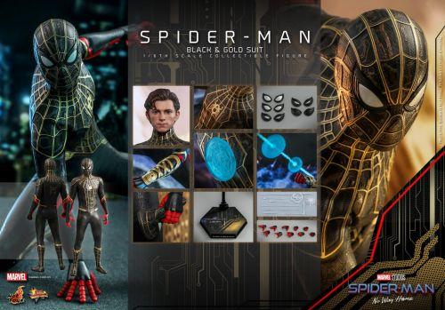"""荷兰弟《蜘蛛侠3》同款手办公布 """"黑金战衣""""首次正式亮相"""