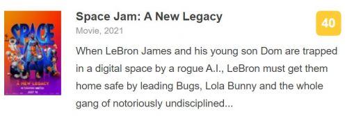 电影《空中大灌篮:新传奇》北美将映 勒布朗·詹姆斯主演