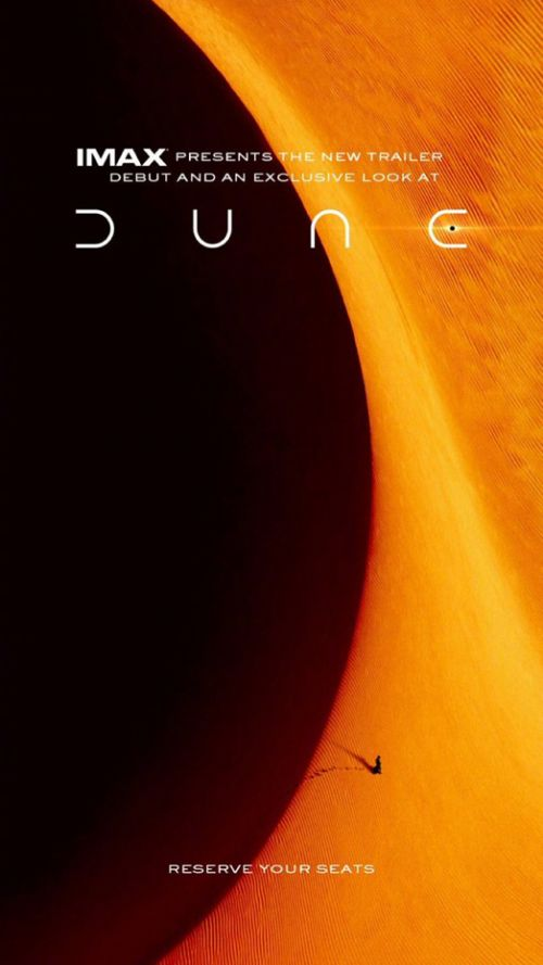 好莱坞科幻巨制《沙丘》发布IMAX版海报