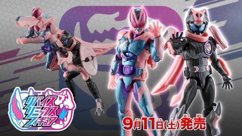 万代发布新《假面骑士revice》DX玩具CM 9月发售