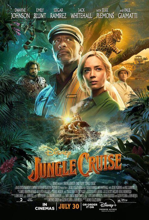迪士尼动作冒险片《丛林奇航》发布新海报 北美定档