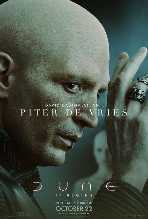 丹尼斯·维伦纽瓦执导《沙丘》发先导预告和新角色海报