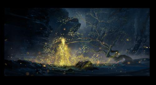 奇幻冒险动画电影《直立象传说》定档 概念设计图曝光