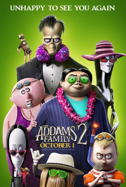 动画电影《亚当斯一家2》因疫情将同步登陆院线和付费点播平台