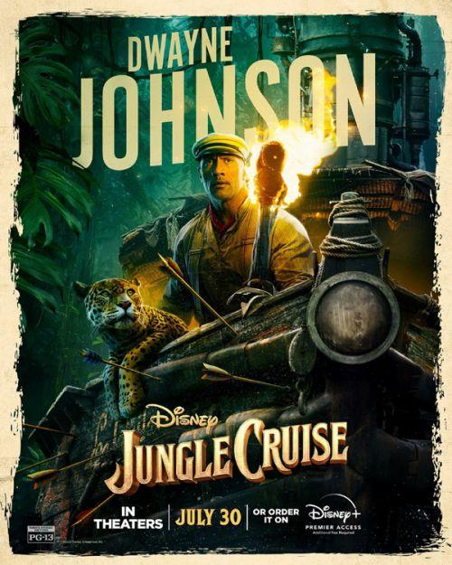 巨石强森《丛林奇航》北美首周末3420万美元登顶 《绿衣骑士》空降第二