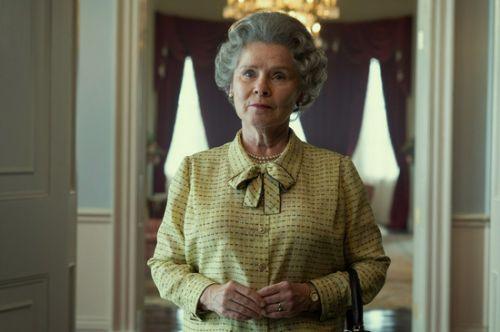 《王冠》第5季发剧照 《哈利波特》女星艾美达·斯丹顿演女王